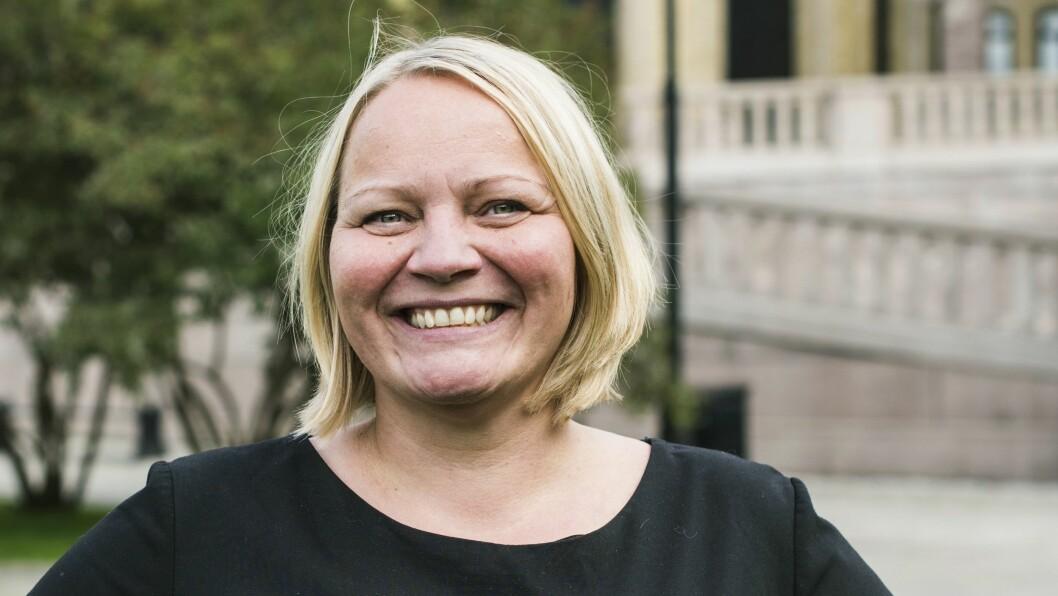 Mona Fagerås er utdanningspolitisk talsperson i SV. Foto: SV