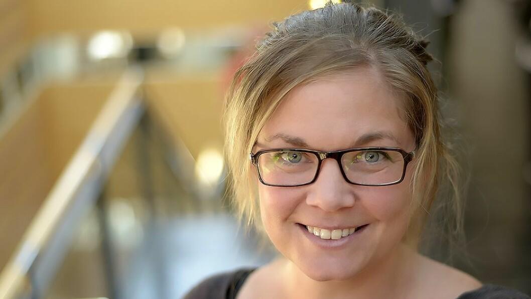 Jannicke Karlsen, postdoktor ved institutt for spesialpedagogikk ved Universitetet i Oslo. Foto: Shane Colvin/UiO
