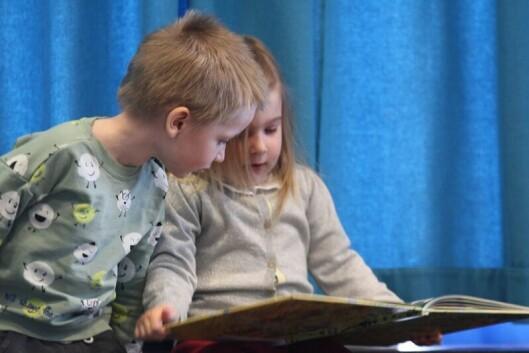 Over 11 000 barn var i fjor innom på Deichman-bibliotekenes arrangementer for barnehagehagebarn.
