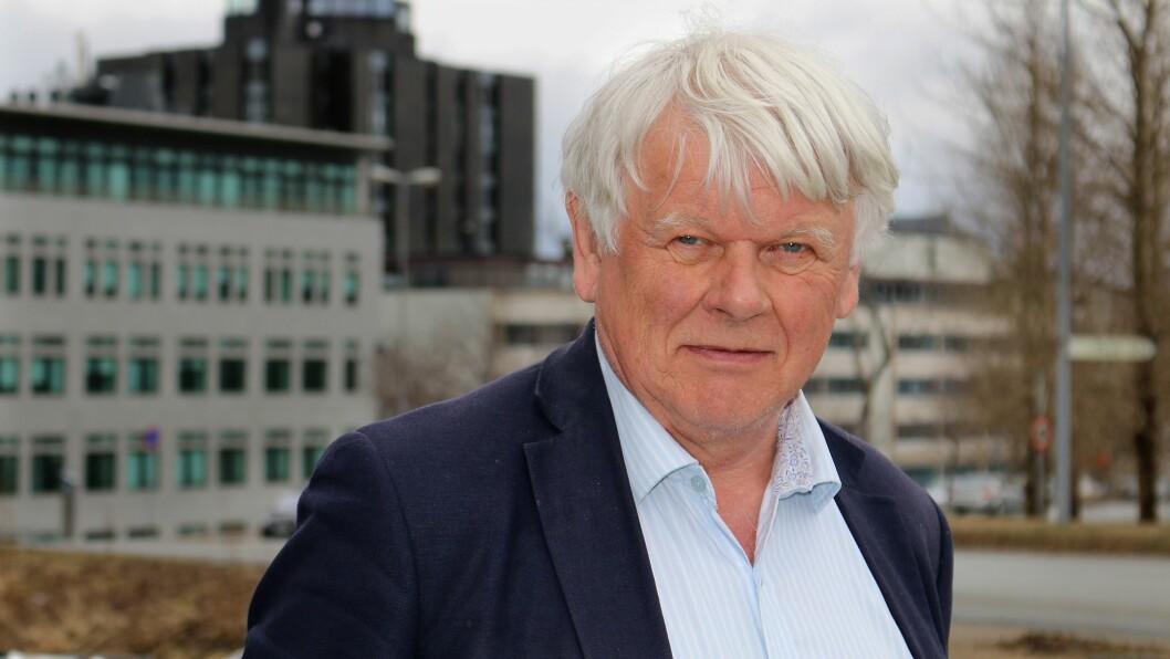 Lars Gulbrandsen er forsker ved OsloMet, og har sett på årsakene til at flere barnehagelærere velger å bli i jobben. Foto: Øyvind Johansen