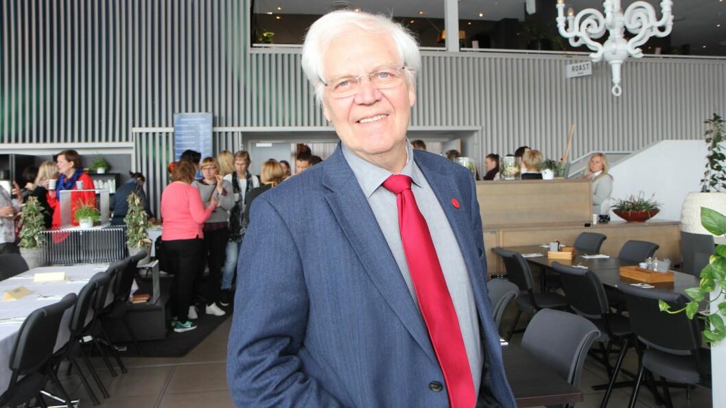 Magne Raundalen har skapt stort engasjement etter at han skrev om økt satsing på barnehager. Foto: Trine Jonassen