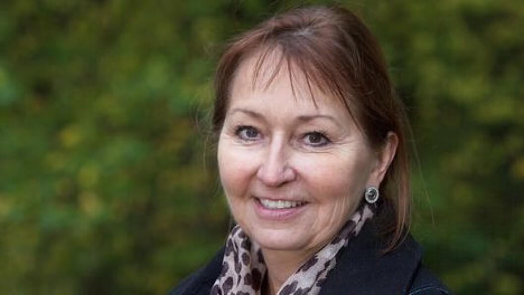 Styreleder Gunn Marit Helgesen i KS. Foto: KS