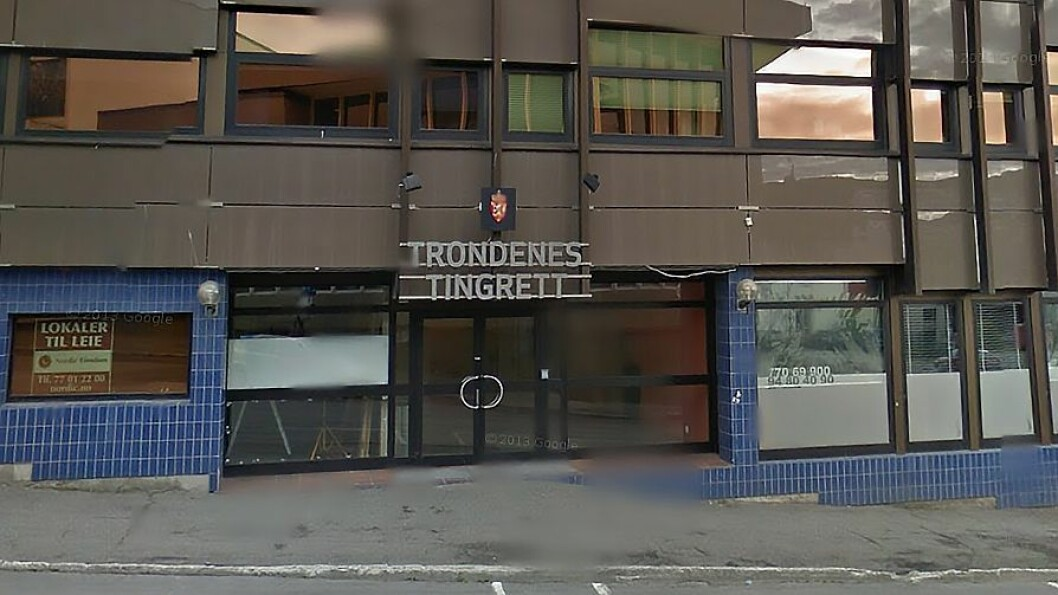 Rettssaken går i Trondenes tingrett i Harstad. Foto: Googlemaps