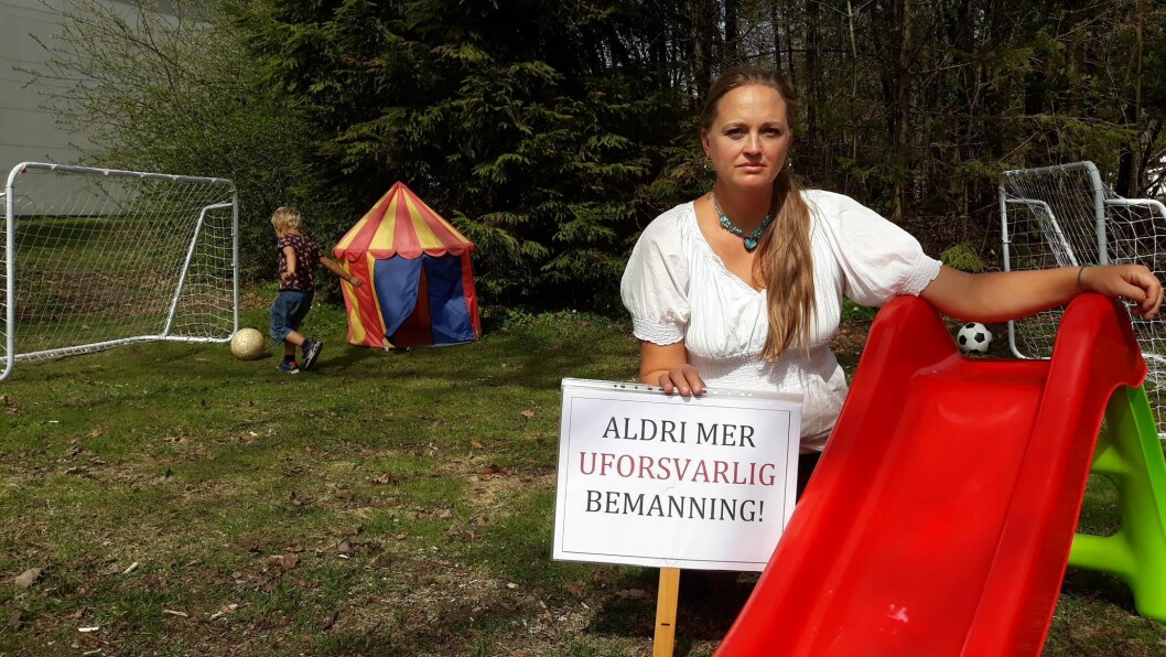 Christina Grefsrud-Halvorsen er en av initiativtakerne til det som etter alt å dømme blir en historisk streik.Foto: Privat