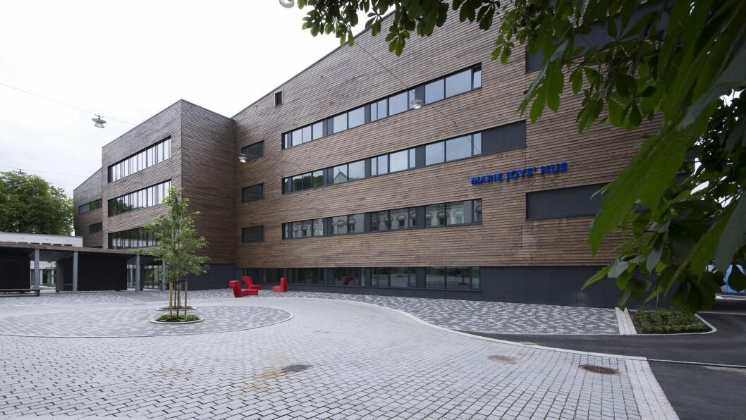 Barne- og ungdomsklinikken ved Haukeland Universitetssjukehus ligger i Marie Joy's hus. Foto: Katrine Sunde