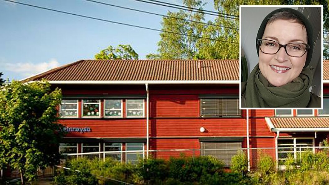 Både foreldrene som eier Steinrøysa andelsbarnehage og styrer Tone Holme (lille bildet) ønsker å selge til Læringsverkstedet. Men kommunen har forkjøpsrett.