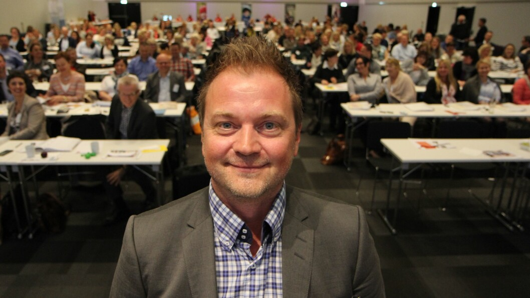 Eirik Husby er styreleder i PBL (Private barnehagers landsforbund). Foto: PBL