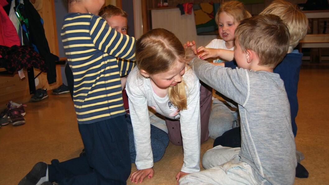 Å trene kan være kjedelig. Men når barna kan leke samtidig som de trener på motoriske ferdigheter blir det en helt annen sak.