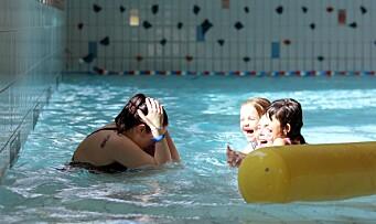 – Det er utrolig artig å se hvor trygge de er blitt i vannet