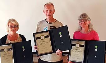 Eva, Ottar og Hanne hedret – har jobbet til sammen 116 år i samme barnehage