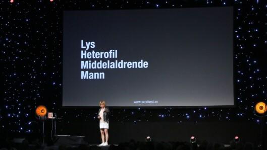 Sara Lund/Claes Schmidt pekte på at det vi kanskje oppfatter som normalen, likevel ikke er så vanlig.