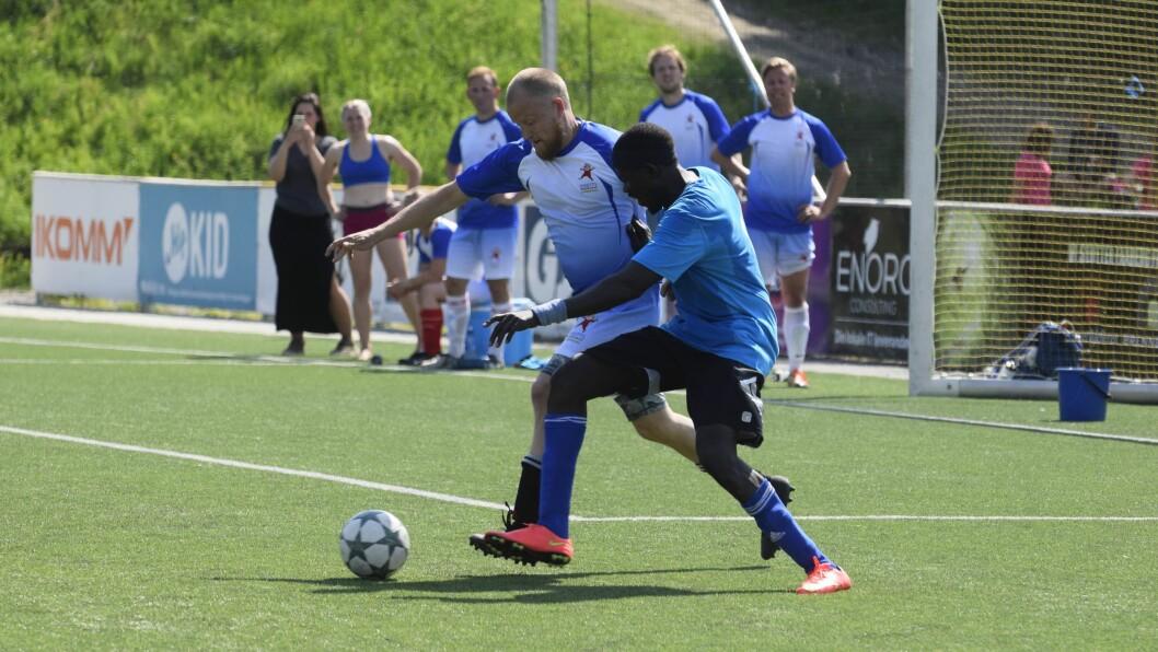 Til sammen 21 barnehager var med på årets Faaberg Mykid Barnehage-NM  i fotball.