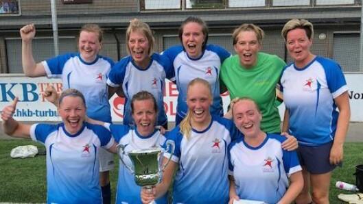 Læringsverkstedet Lillehammer Idrettsbarnrhage vant dameklassen.