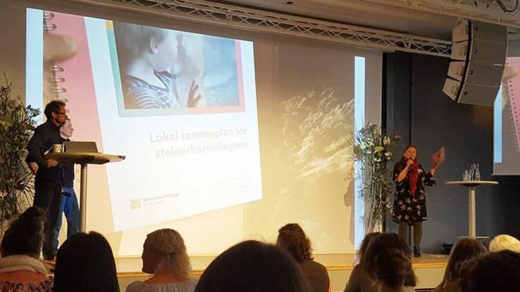 Lokal rammeplan for steinerbarnehagene ble lansert under en konferanse i Tromsø forrige fredag.