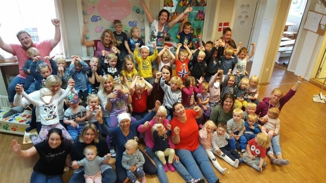 Læringsvekstedet Grandehagen Barnehage i Arendal er en av fem finalister som kan vinne tittelen «Årets barnehage 2018».