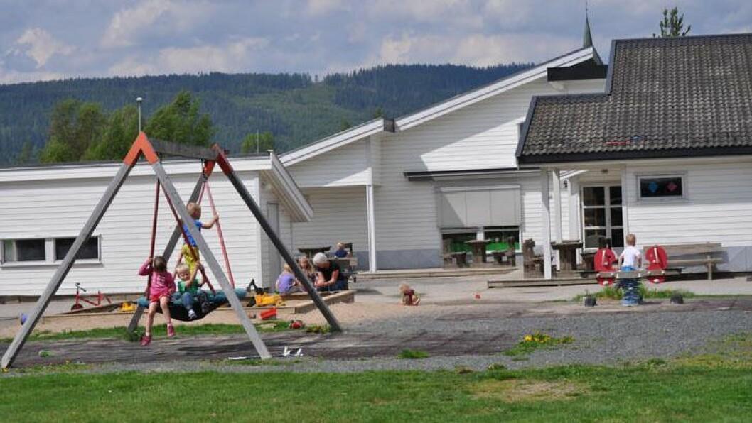 Mo barnehage er en av to som legges ned når Nord-Odal kommune etter planen åpner en ny og stor barnehage i 2020. Foto: Nord-Odal kommune