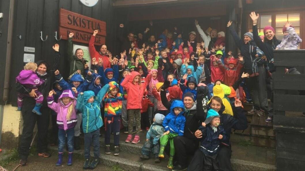 Norlandia Skistua barnehage i Oslo er en av fem finalister som kan vinne tittelen «Årets barnehage 2018».