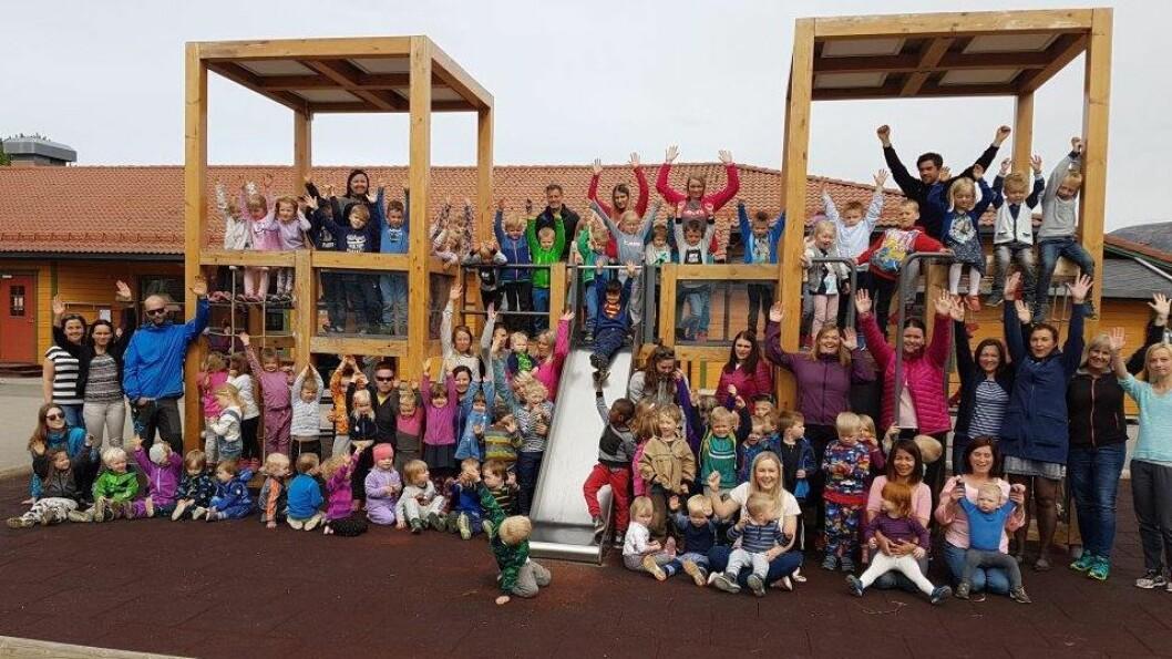 Prestelva barnehage på Sortland er en av fem finalister som kan vinne tittelen «Årets barnehage 2018».