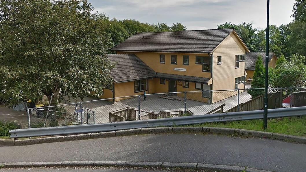 Steinhagen barnehage er en av seks barnehager på Storhaug, Hillevåg og Hundvåg som i høst får sju ekstra barn under 3 år. Foto: Googlemaps