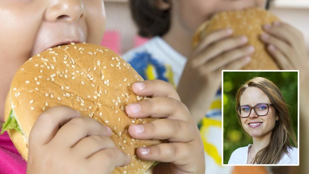Runa Spilling (innfelt) er ernæringsfysiolog, og forteller hvordan kostholdet i barnehagen kan utjevne sosiale forskjeller.