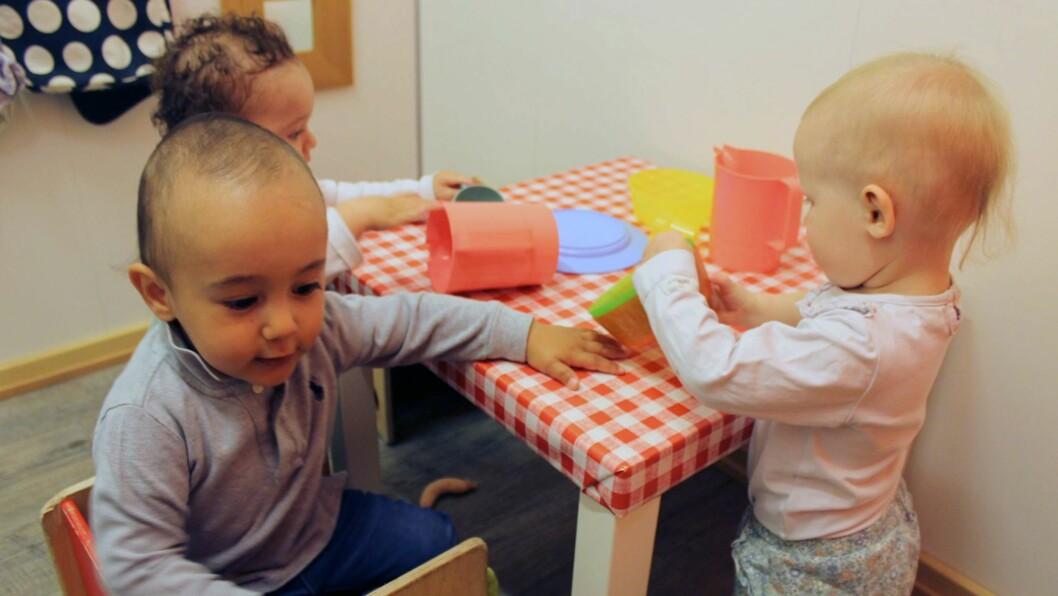 – Det var interessant å se hvordan barna stadig ble tryggere på å leke og utforske, sier barnehagelærer Hege Hagelund.