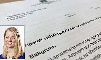 Departementet ber seks fylkesmenn vurdere tilsyn etter funn i rapport