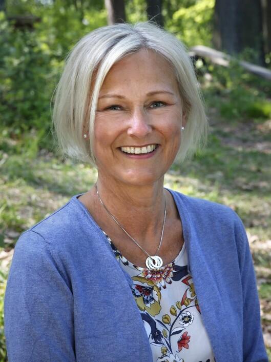 Anne Therese Tronshart er daglig leder i Fjæraskogen barnehage.