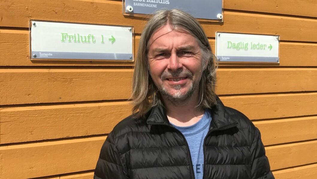 Daglig leder Morten R. Horn i Norlandia Kløvermarka barnehage er lettet over at det endelige vedtaket er klart: – Vi hadde rett hele tiden, sier han.