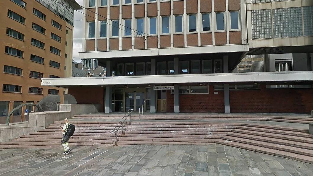 Bergen sentrum politistasjon.