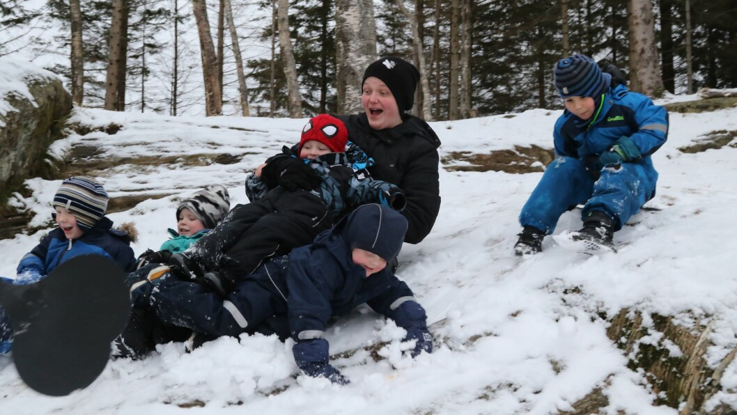 Sist vinter skrev barnehage.no om Adrian Mulehamn, lærling ved Storevatn barnehage i Florø. Foto: Linda Regina Bruvik, Firdaposten