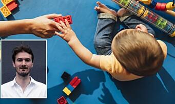 – Tidlig barnehagestart betyr ikke det vi trodde det skulle gjøre
