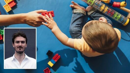 Stipendiat Erik Eliassen i Goban-prosjektet har forsket på tidlig start i barnehagen. 31. august skal han forsvare doktorgradsavhandlingen sin.