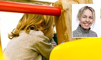 «Mange barn trenger langt mer enn en klapp på skulderen og en oppfordring om å bli med i leken»