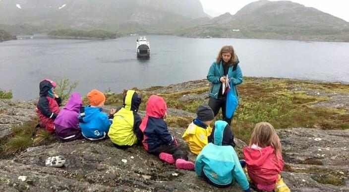 Barnehagen tar jobben som «turistkontor» på alvor