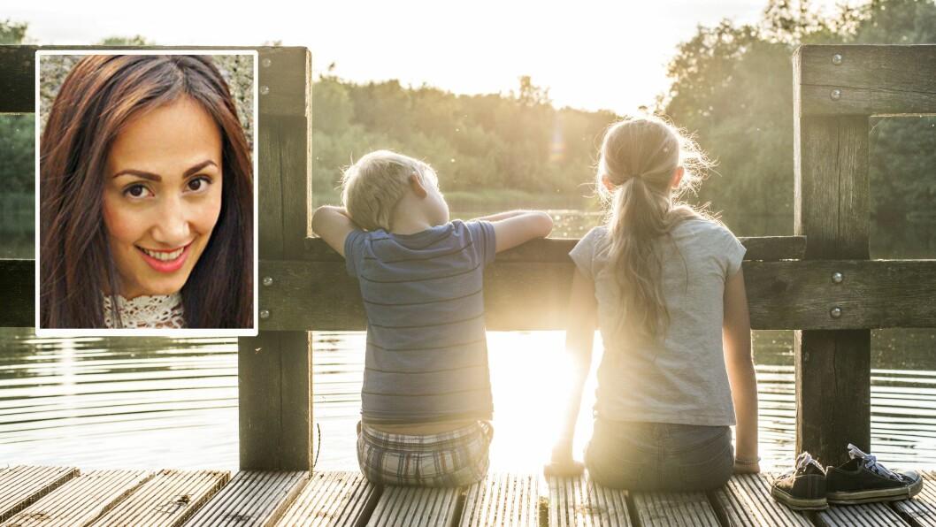 Barnehagestyrer Maria Dizaei minner om at det ikke er en selvfølge at alle barn reiser bort om sommeren.