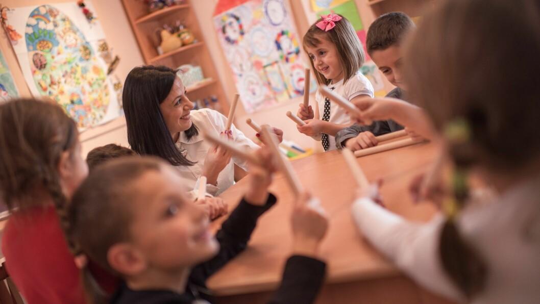 Hvilken type tilknytning som utvikler seg avhenger av hvordan den voksne har vært i møte med barnet.