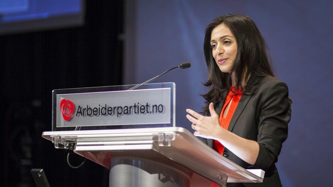 Hadia Tajik er nestleder i Arbeiderpartiet. Foto: Sandra Skillingsås, Arbeiderpartiet