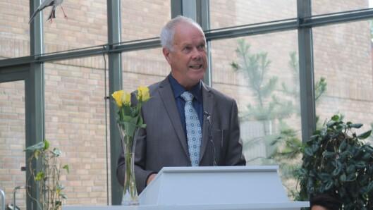 Rektor ved DMMH Hans-Jørgen Leksen.