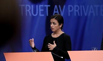Tok debatten om private i velferden