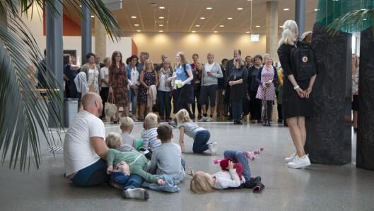 Åpning av Filiorum ved Universitetet i Stavanger.