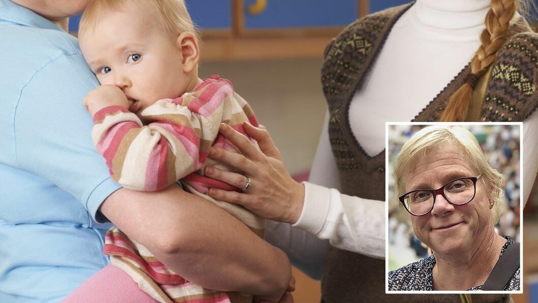 Barnehagestyrer Trine Hofseth skriver om den vanskelige tilvenningen som både foreldre og barn skal i gjennom. Og hvordan de ansatte kan bidra. Illustrasjonsfoto: Getty Images