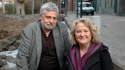 Arkitekt Birger Dahl og førstelektor Randi Evenstad.