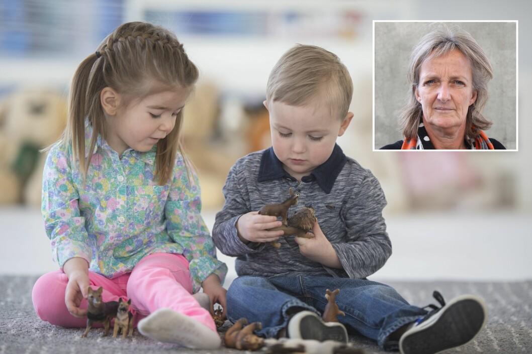 Ingrid Lund (innfelt) er professor i spesialpedagogikk ved Pedagogisk utviklingssenter (PULS) ved Universitetet i Agder.