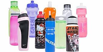 Forbrukerrådet: Flere av drikkeflaskene beregnet på barn lekker kjemikalier