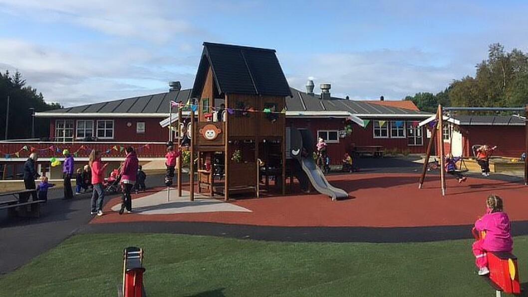 Norlandia Tusseladden barnehage i Bodø. Foto: Privat