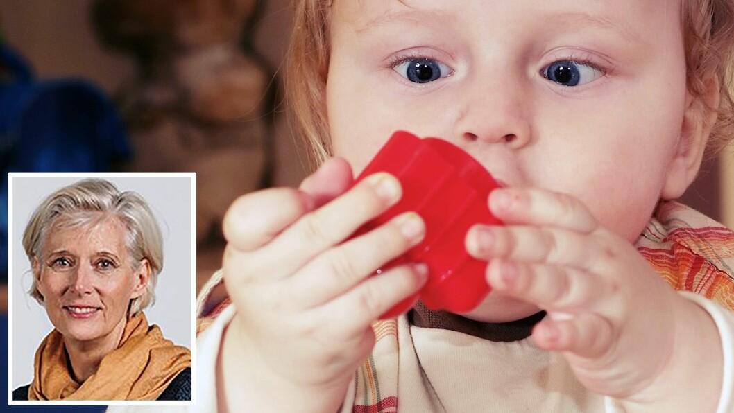 Professor Turid Suzanne Berg-Nielsen leder et nytt forskningsprosjekt om småbarn og stress i barnehagen. Illustrasjonsfoto: Getty Images