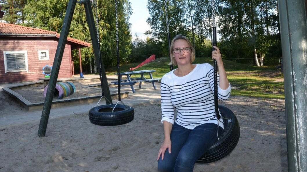 Anne Næsheim er kritisk til hvordan Elverum kommune har håndtert spørsmålet om nedleggelse av en av de kommunale barnehagene på Hanstad. Foto: Randi Undseth, Østlendingen