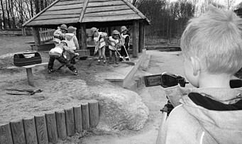 Lager film i ekte Hollywood-stil - barna har gledet seg i lang tid