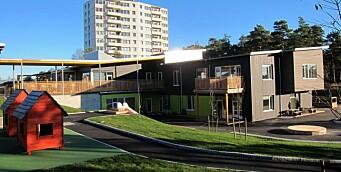 Barnehagen sto ferdig for seks år siden – nå må den trolig totalrenoveres