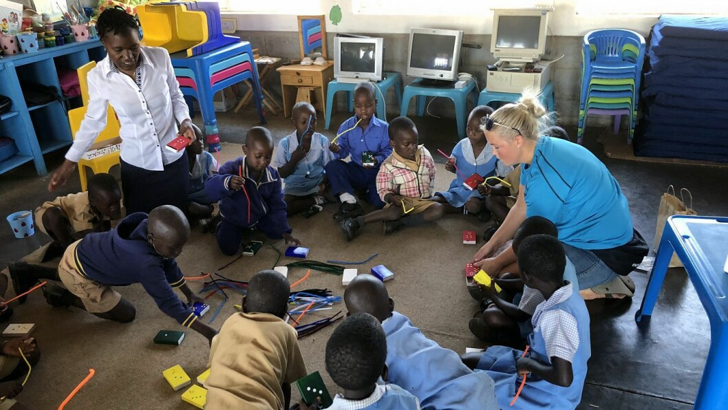 Denne uka har blant annet seks ansatte i Espira vært i Zimbabwe og besøkt sin egen barnehage.